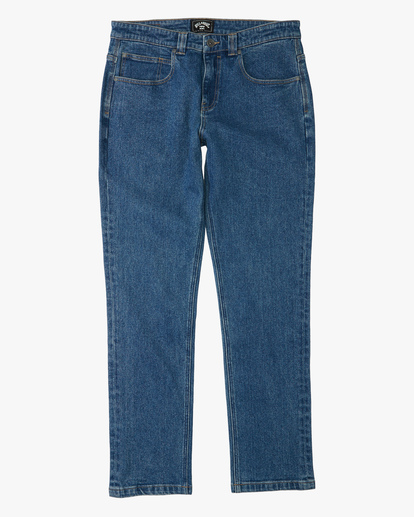 4 73 Slim Straight Jeans Brown ABYDP00107 Billabong