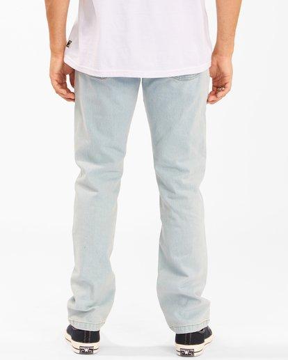 3 73 Slim Straight Jeans Blue ABYDP00107 Billabong