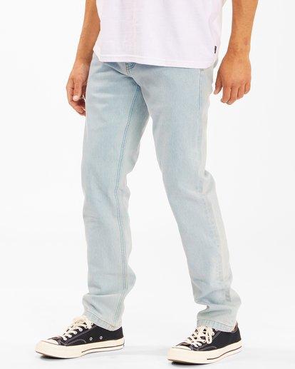 1 73 Slim Straight Jeans Blue ABYDP00107 Billabong