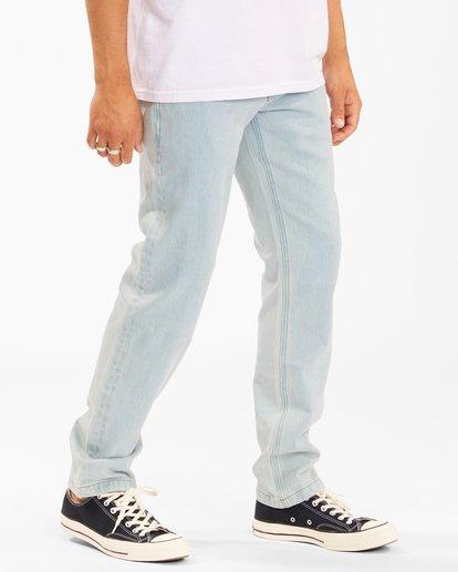 2 73 Slim Straight Jeans Blue ABYDP00107 Billabong