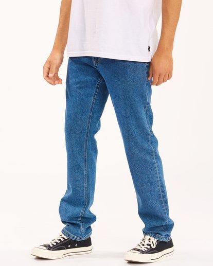 1 73 Slim Straight Jeans Brown ABYDP00107 Billabong