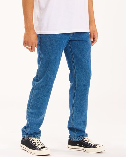 2 73 Slim Straight Jeans Brown ABYDP00107 Billabong