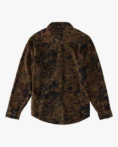 5 A/Div Furnace Flannel Shirt Black ABYFT00101 Billabong