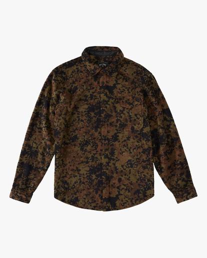 4 A/Div Furnace Flannel Shirt Black ABYFT00101 Billabong