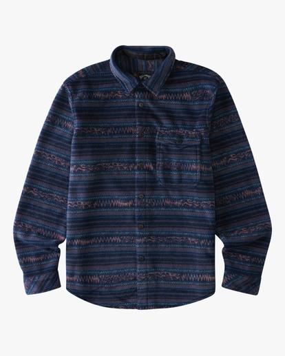 4 A/Div Furnace Flannel Shirt Blue ABYFT00101 Billabong