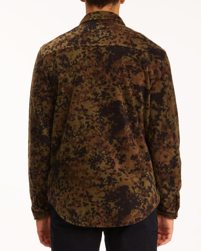 2 A/Div Furnace Flannel Shirt Black ABYFT00101 Billabong