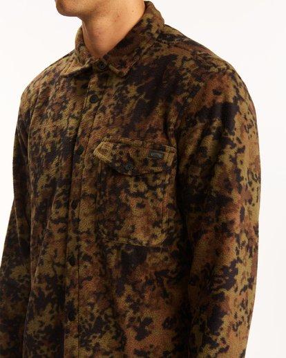 3 A/Div Furnace Flannel Shirt Black ABYFT00101 Billabong