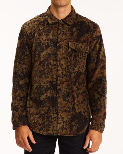 0 A/Div Furnace Flannel Shirt Black ABYFT00101 Billabong