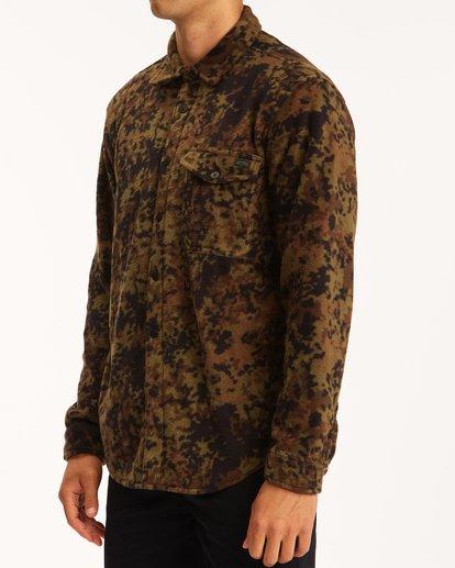 1 A/Div Furnace Flannel Shirt Black ABYFT00101 Billabong