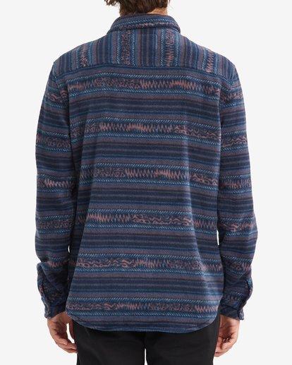 2 A/Div Furnace Flannel Shirt Blue ABYFT00101 Billabong