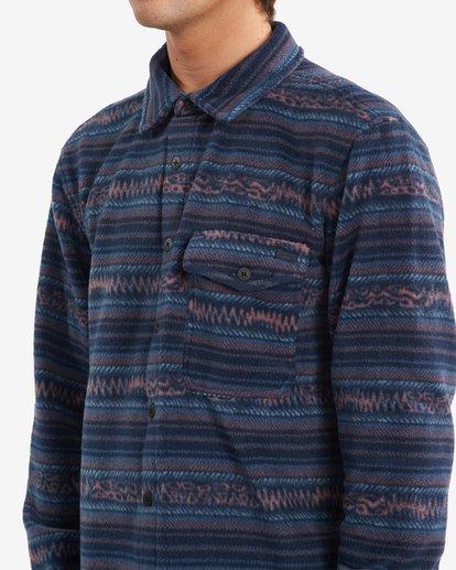3 A/Div Furnace Flannel Shirt Blue ABYFT00101 Billabong