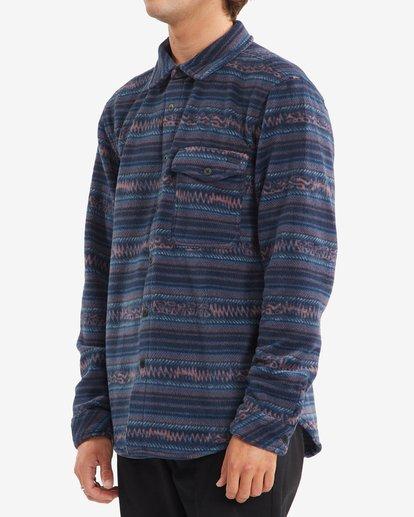 1 A/Div Furnace Flannel Shirt Blue ABYFT00101 Billabong