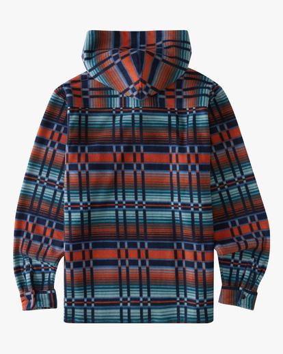 5 A/Div Furnace Fleece Anorak Jacket Red ABYFT00102 Billabong