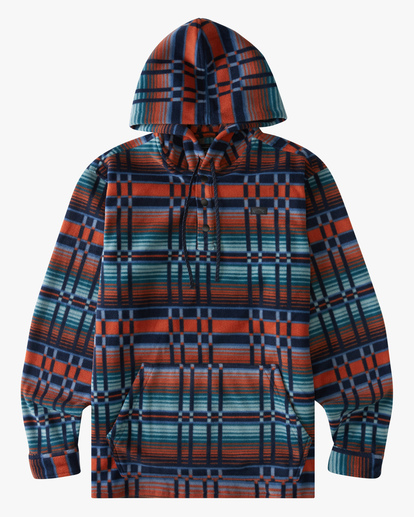 4 A/Div Furnace Fleece Anorak Jacket Red ABYFT00102 Billabong