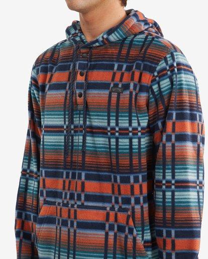 3 A/Div Furnace Fleece Anorak Jacket Red ABYFT00102 Billabong