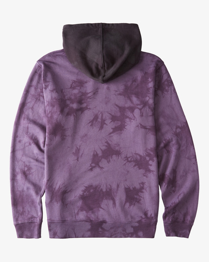 5 Wave Washed Blocked Pullover Hoodie Purple ABYFT00104 Billabong