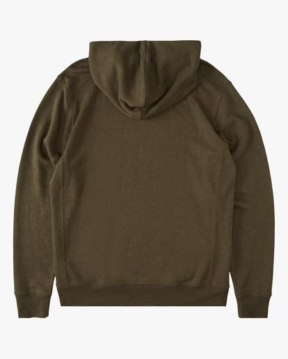 5 A/Div Ventura Hemp Pullover Hoodie Green ABYFT00106 Billabong