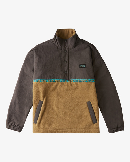 0 Currents Half Zip Pullover White ABYFT00109 Billabong