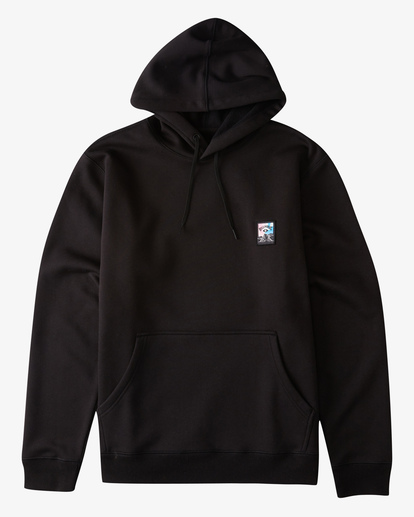 4 Eyesolation Pullover Hoodie Black ABYFT00131 Billabong