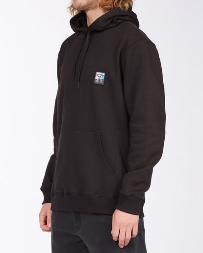1 Eyesolation Pullover Hoodie Black ABYFT00131 Billabong