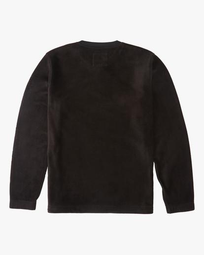 5 A/Div Furnace Crew Pullover Fleece Black ABYFT00162 Billabong