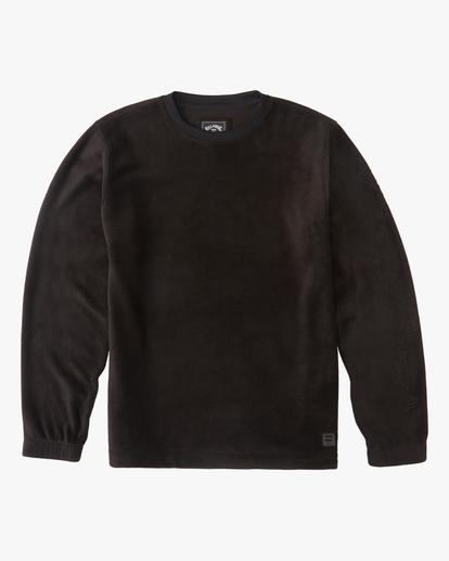 4 A/Div Furnace Crew Pullover Fleece Black ABYFT00162 Billabong