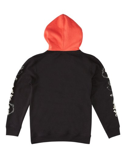 5 Grinchmas Vacation Pullover Hoodie Black ABYFT00167 Billabong