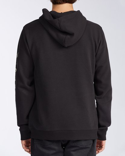 3 Grinchmas Vacation Pullover Hoodie Black ABYFT00167 Billabong