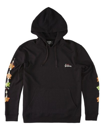 4 Lei Day Pullover Hoodie Black ABYFT00168 Billabong