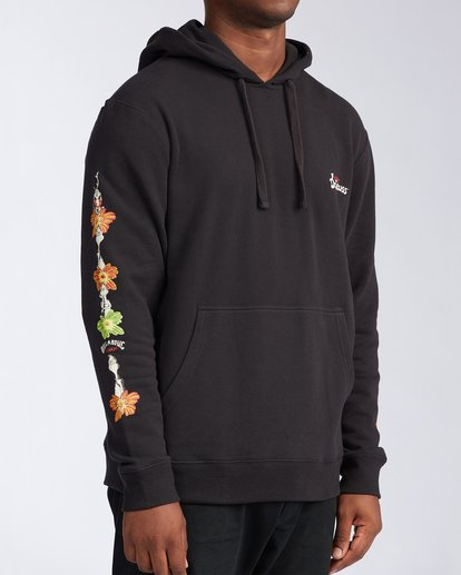 2 Lei Day Pullover Hoodie Black ABYFT00168 Billabong