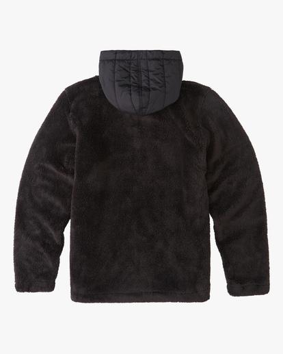 6 A/Div Badger Half-Zip Pullover Hoodie Black ABYFT00169 Billabong