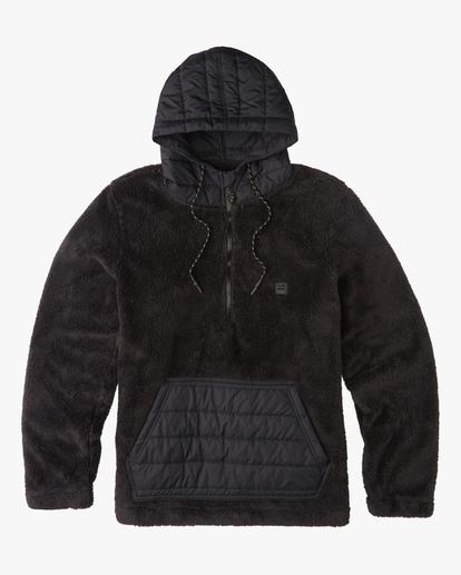 5 A/Div Badger Half-Zip Pullover Hoodie Black ABYFT00169 Billabong