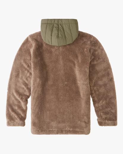 5 A/Div Badger Half-Zip Pullover Hoodie Brown ABYFT00169 Billabong