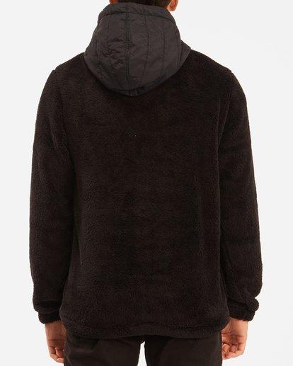 3 A/Div Badger Half-Zip Pullover Hoodie Black ABYFT00169 Billabong