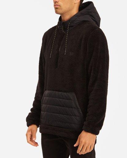 2 A/Div Badger Half-Zip Pullover Hoodie Black ABYFT00169 Billabong