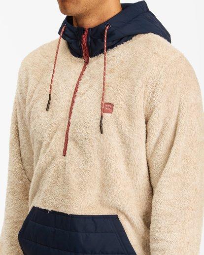 3 A/Div Badger Half-Zip Pullover Hoodie Multicolor ABYFT00169 Billabong