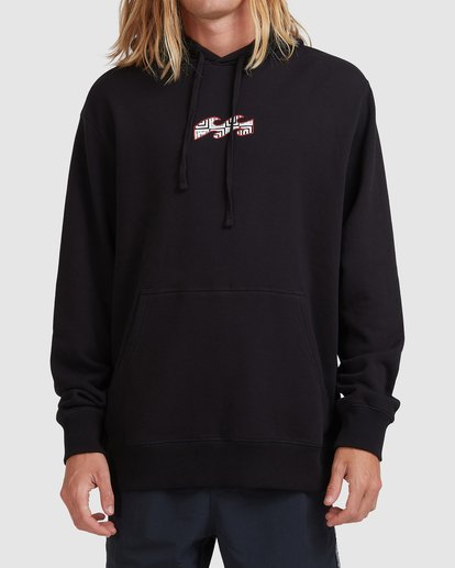 1 Air Pop Hooded Sweatshirt Black ABYFT00170 Billabong