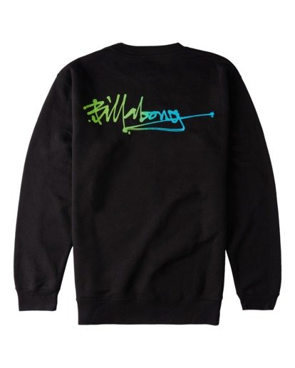 1 Lineup Crew Neck Sweatshirt Black ABYFT00171 Billabong