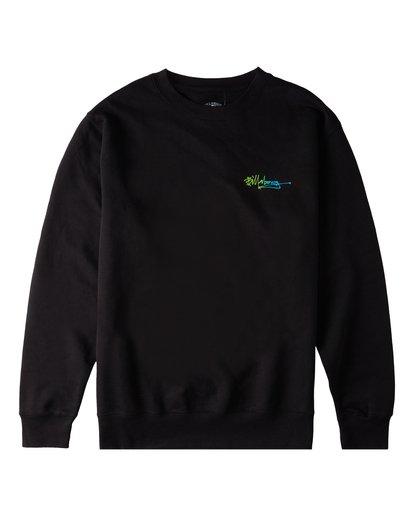 0 Lineup Crew Neck Sweatshirt Black ABYFT00171 Billabong