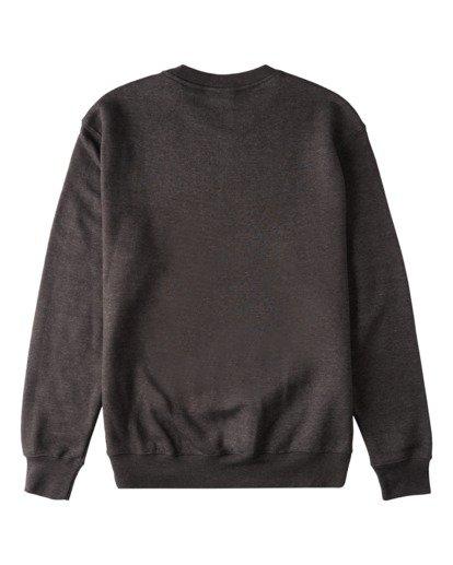 1 Brush Wave Crew Neck Sweatshirt Grey ABYFT00172 Billabong