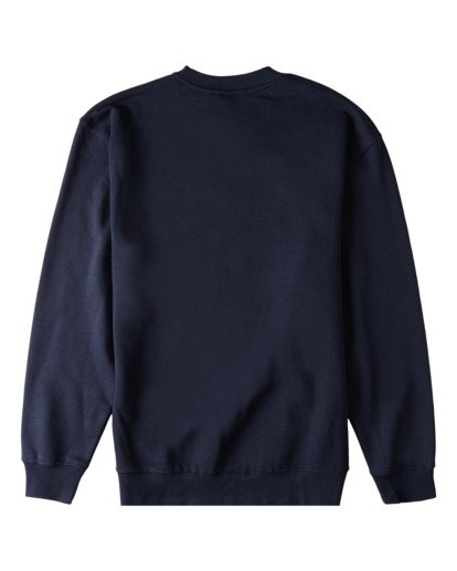 4 Brush Wave Crew Neck Sweatshirt Blue ABYFT00172 Billabong