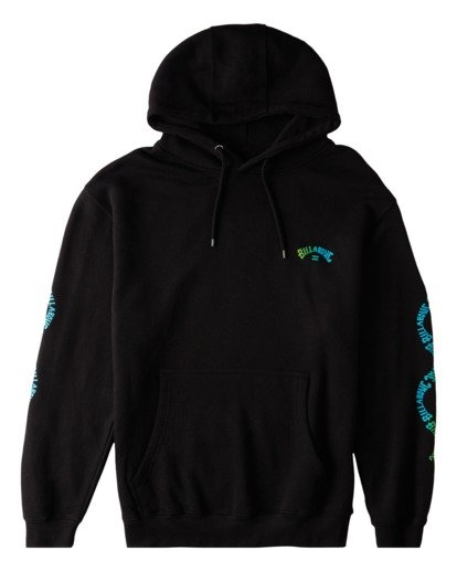 3 Arch Wave Pullover Hoodie Black ABYFT00174 Billabong