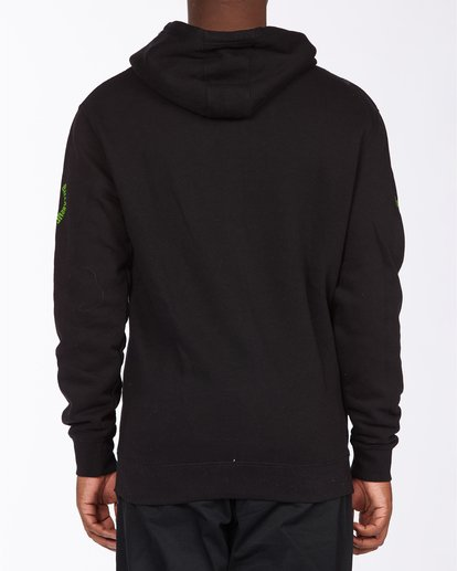 2 Arch Wave Pullover Hoodie Black ABYFT00174 Billabong