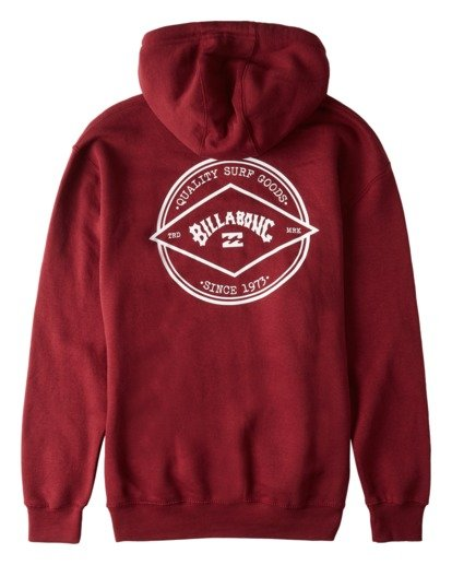 1 Rotor Arch Pullover Hoodie Red ABYFT00176 Billabong