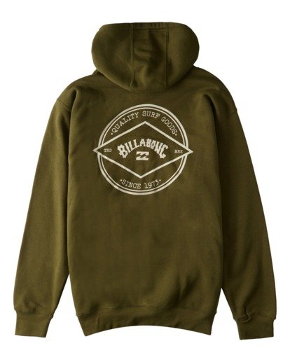 1 Rotor Arch Pullover Hoodie Green ABYFT00176 Billabong