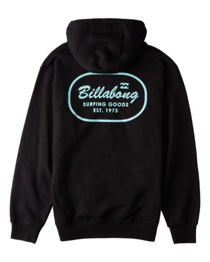 1 Surfing Goods Full Zip Hoodie Black ABYFT00178 Billabong