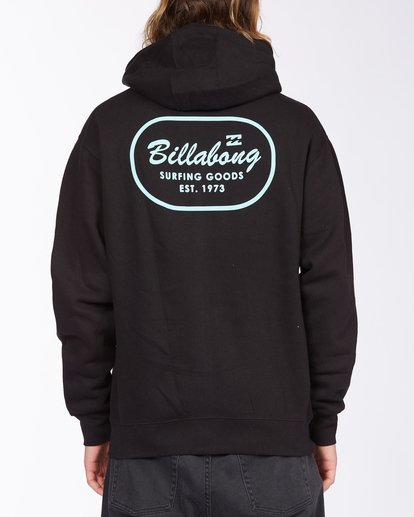 2 Surfing Goods Full Zip Hoodie Black ABYFT00178 Billabong