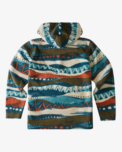 1 Boundary Double Fleece Red ABYFT00183 Billabong