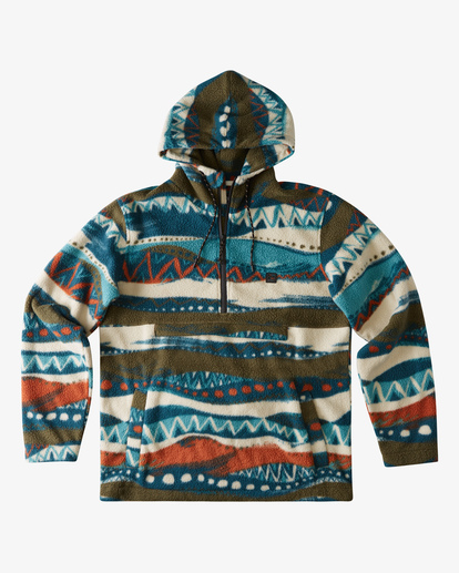 0 Boundary Double Fleece Red ABYFT00183 Billabong