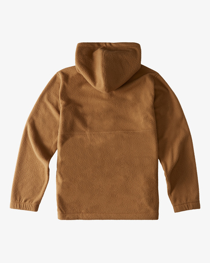 1 A/Div Boundary Double Fleece Brown ABYFT00183 Billabong